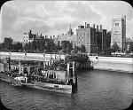 Lambeth Palace and pier