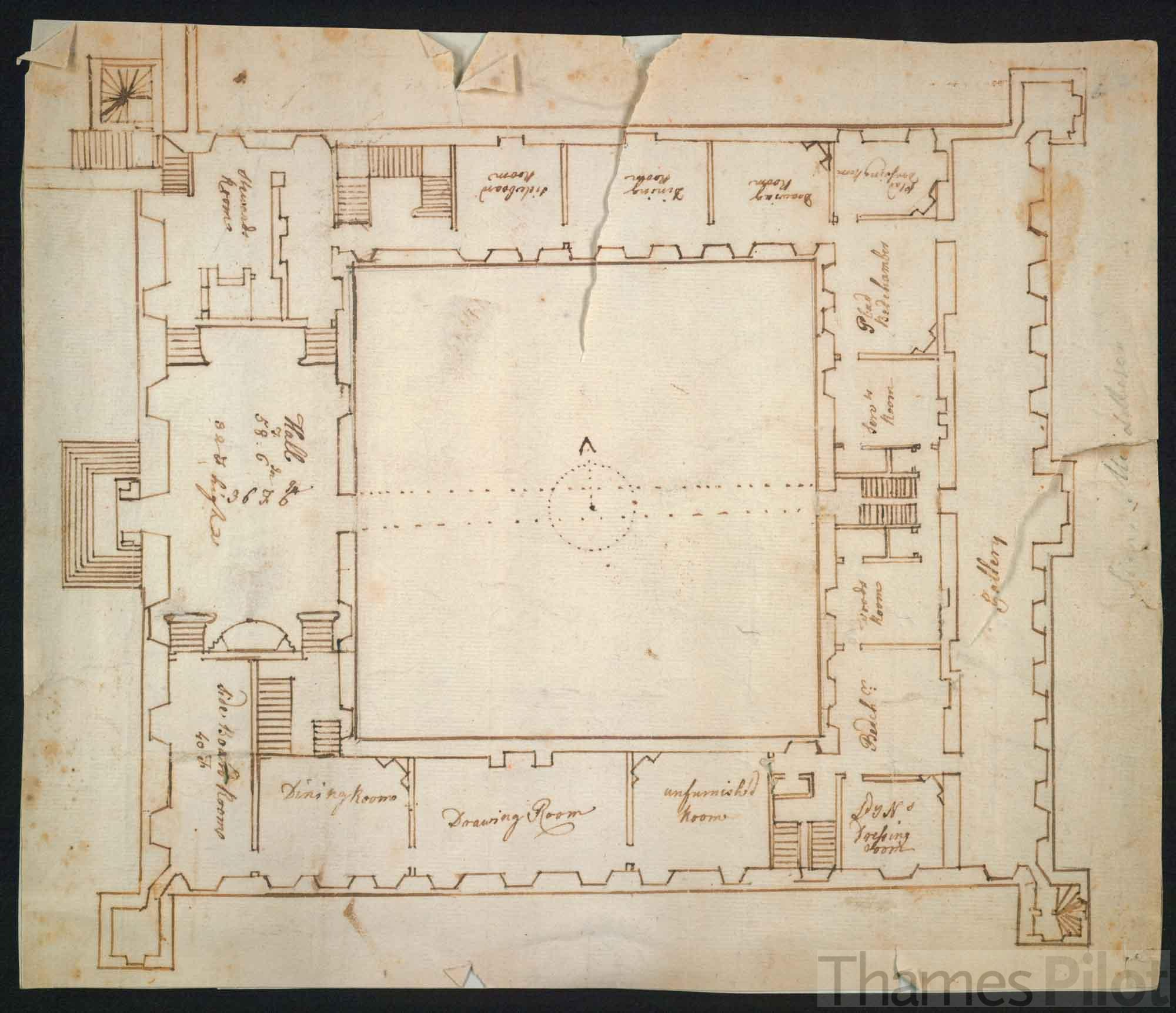 Plan of the interior of syon house for House plan pictures inside house